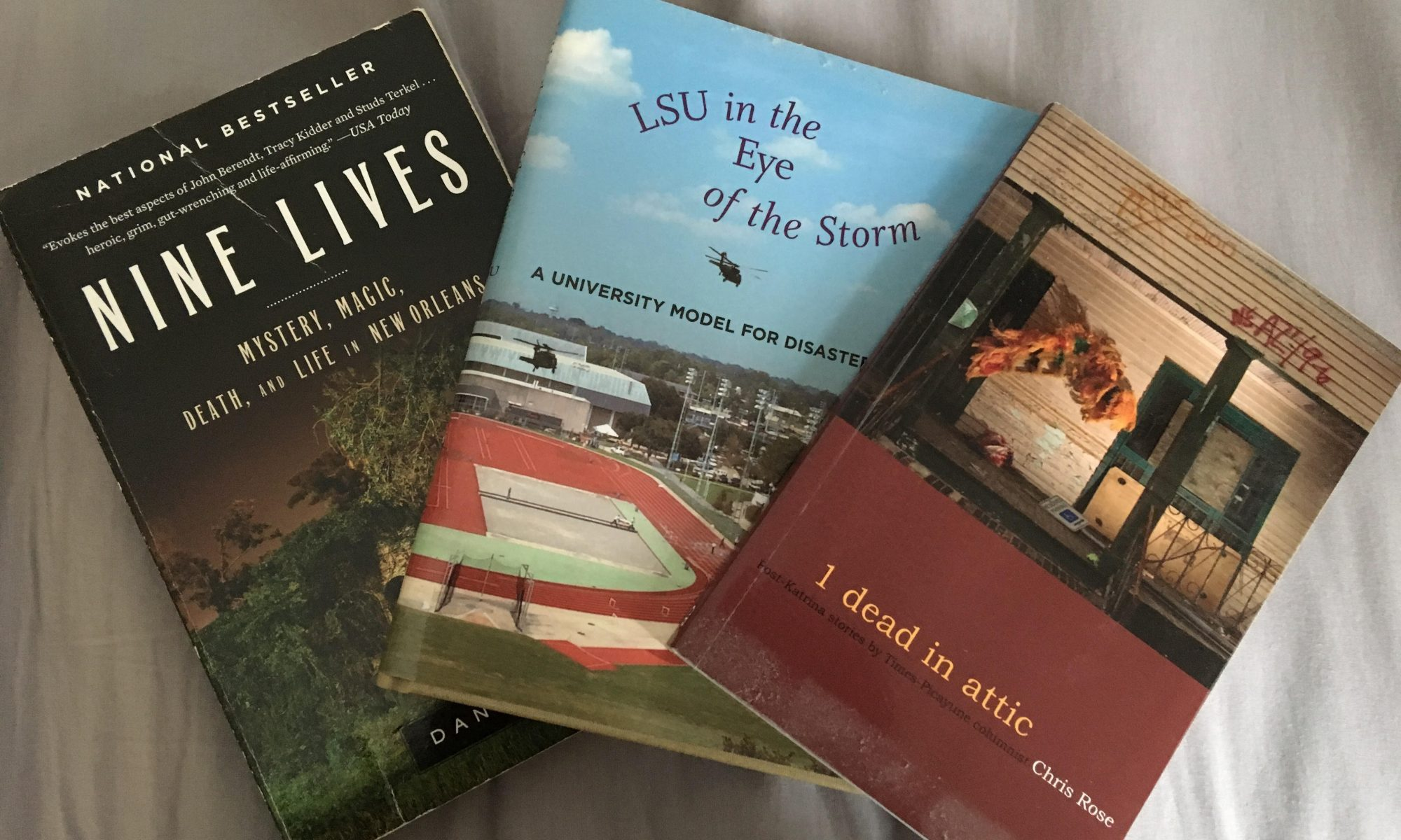 Recommended reading about Katrina.