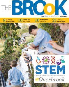 The Brook, Overbrook School's alumni magazine.