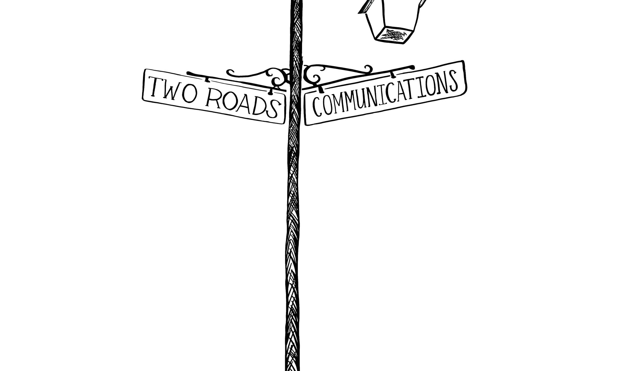 Two Roads Communications logo