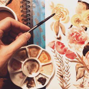 Jennifer Walker watercolor
